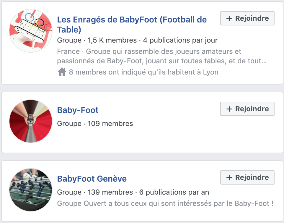 groupe facebook blog